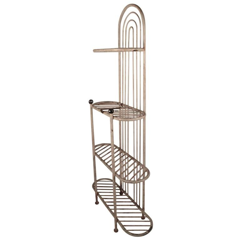 Iron Etagere Suitable for Indoor/Outdoor Garden Patio Use