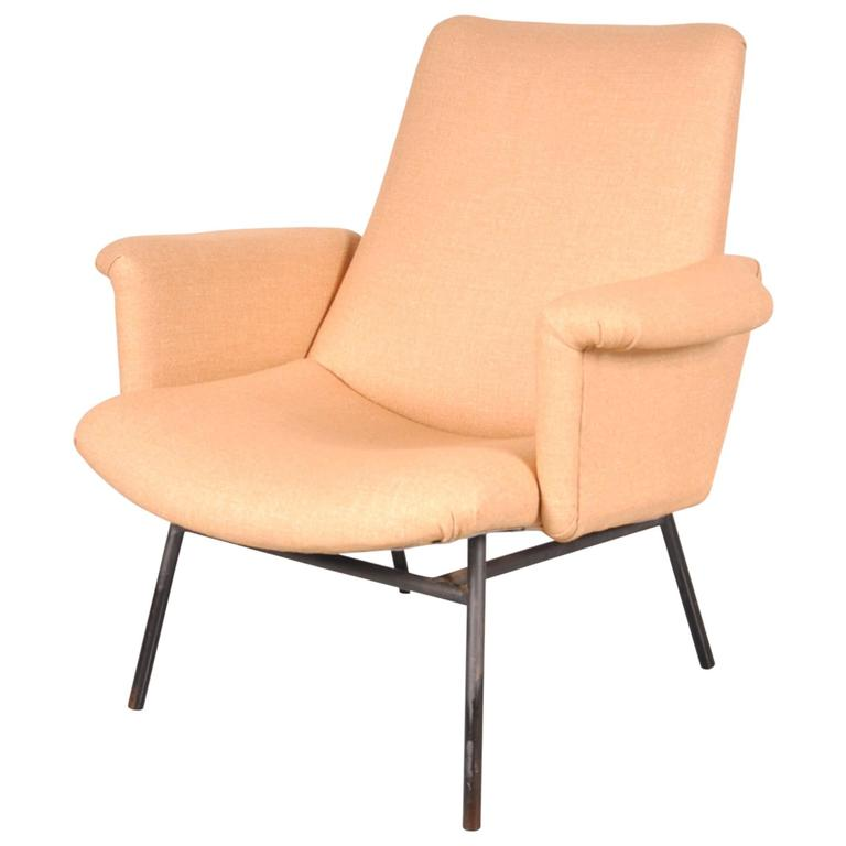 SK660 Easy Chair by Pierre Guariche for Steiner, France, circa 1950