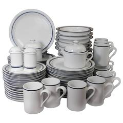 Dansk Portugal Christianshavn Blue Pattern 66 Pieces Set Service for Twelve