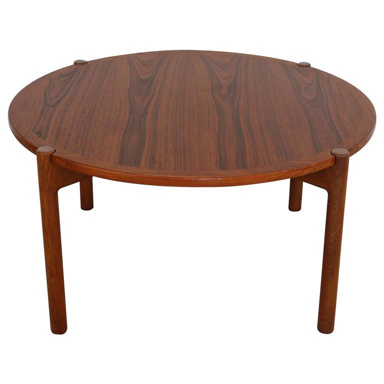 Hans Wegner Reversible Top Coffee Table For Johannes Hansen At 1stdibs