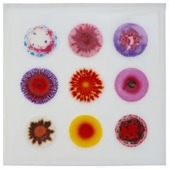 """William Loveless """"Glue Painting"""" #1123"""