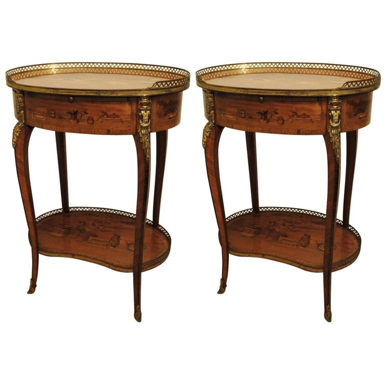 fine pair of 19th century etageres at 1stdibs. Black Bedroom Furniture Sets. Home Design Ideas