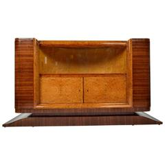 French Art Deco Dry Bar or Sideboard