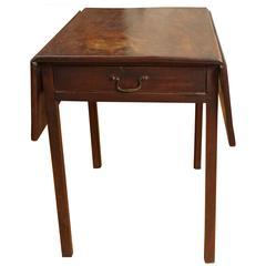 Mahogany Drop-Leaf Table