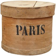 Paris Hat Box