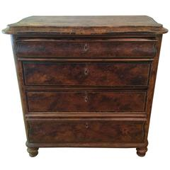 19th Century Swedish Faux Painted Dresser
