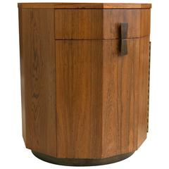 Harvey Probber Rosewood Bar Cabinet