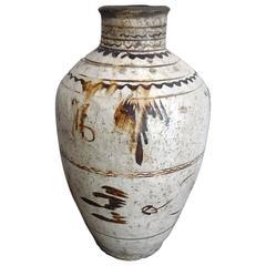 Large 17th Century Ceramic Urn