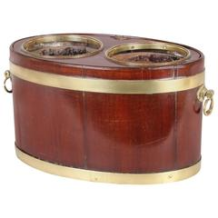 Rare George III Period Mahogany Table Bottle-Cooler