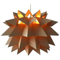"Danish Nordisk Solar ""Star Light"" Pendant by Anton Fogh Holm and Alfred Andersen"
