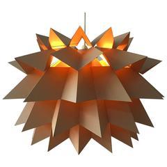 "Danish Nordisk Solar ""Star Light"" Pendant by Anton Fogh Holm and Alfred Andersen"