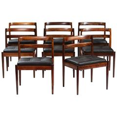 """Set of Eight """"301 Universe"""" Dining Chairs"""