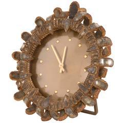 Very Rare Clock by Line Vautrin