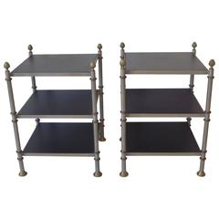 Nightstands or End Tables after Maison Jansen