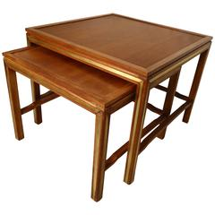 Rare Nesting Tables by Widdicomb