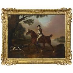 Late 18th Century English Sporting Painting in the Manner of George Stubbs