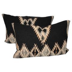 Pair of Indian Weaving Bolster Pillows