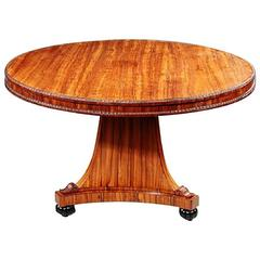 Antique Regency Kingwood Centre Table