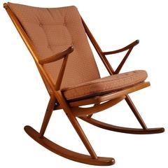 Frank Reenskaug for Bramin Rocking Chair, Denmark