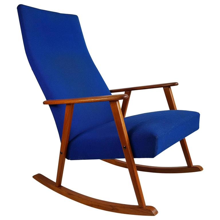 Classic Mid-Century Modern Danish Rocking Chair, Denmark For Sale at ...