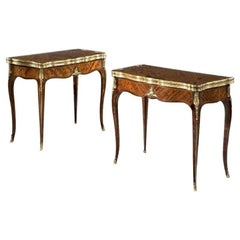 Antique French Card Tables