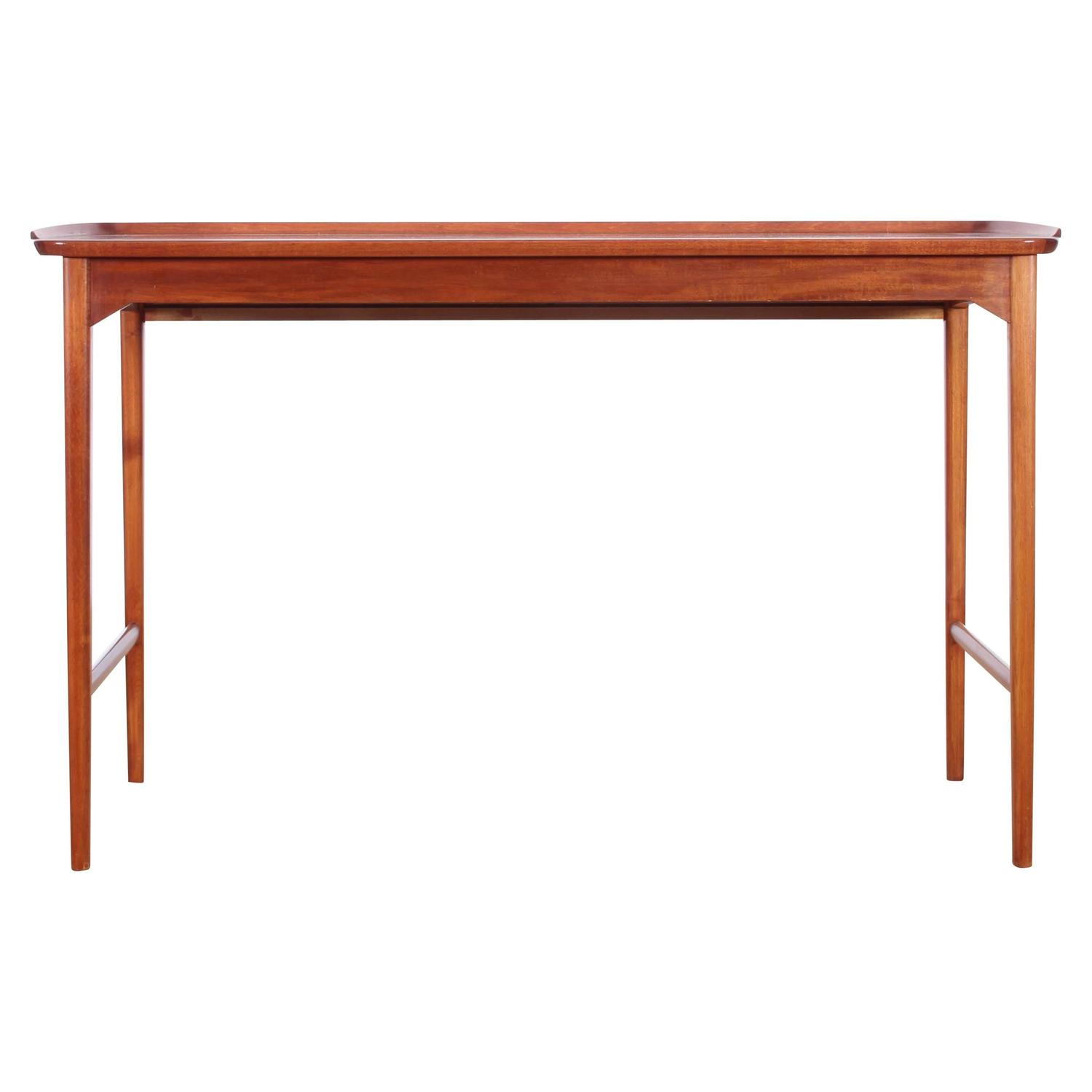 mid century modern console in mahogany by carl malmsten at 1stdibs