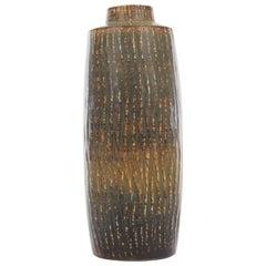 Mid-Century Modern Scandinavian Large Vase by Gunnar Nylund