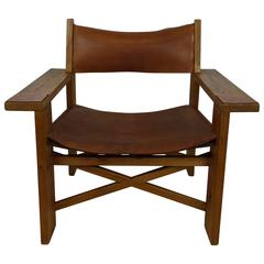 Vintage Danish Camping Easy Chair