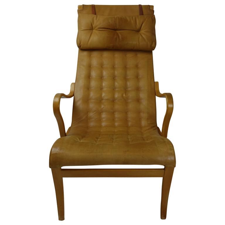 Miranda Lounge Chair by Bruno Mathsson