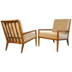 T.H. Robsjohn-Gibbings Pair of Lounge Chairs