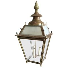 Austrian Copper Lantern Sconce
