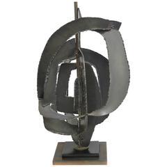 Brutalist Lamp by Harry Balmer for Laurel Lamp Co.