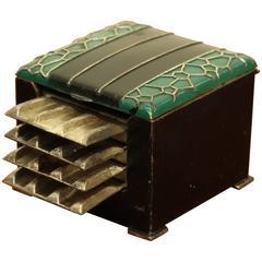 Art Deco Japanese Ashtray Case