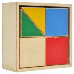 ADO Ko Verzuu Puzzle Box Decorative Kids Toy, 1950