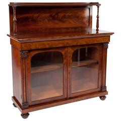 Superb Quality William IV Mahogany Chiffonier