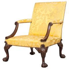 Antique Gainsborough Library Armchair