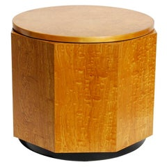 Alvar Aalto Finnish Birch Burl Hexagon Table