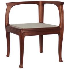 Art Nouveau Corner Chair by Edouard Diot