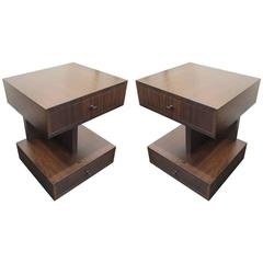 Andrew Szoeke Two-Tiered Side Tables