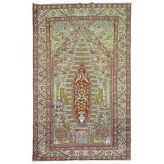 Turkish Pictorial Sivas Prayer Rug