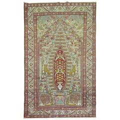 Turkish Pictorial Sivas Prayer Rug