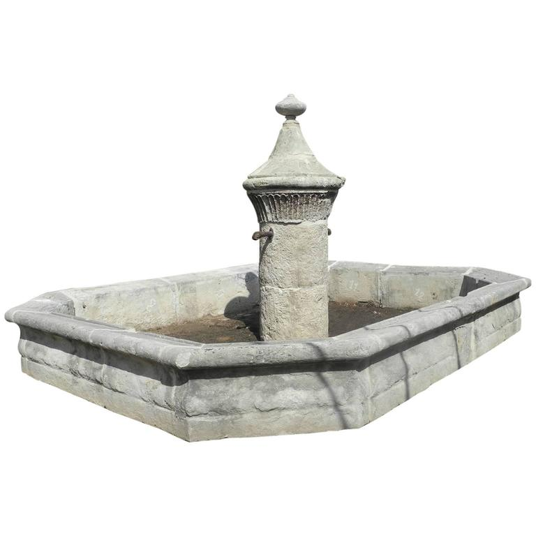 18th Century Village Fountain from Taulignan, France 1