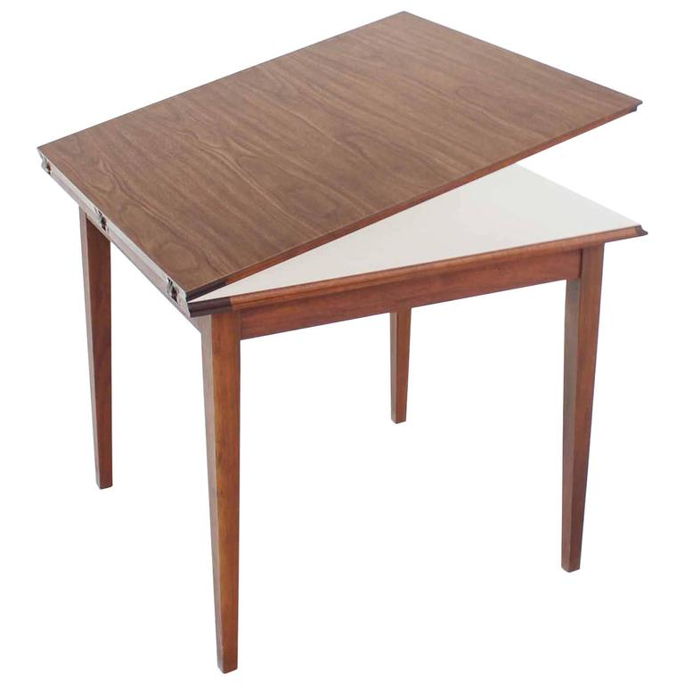 Square Flip Top Game Dining Table