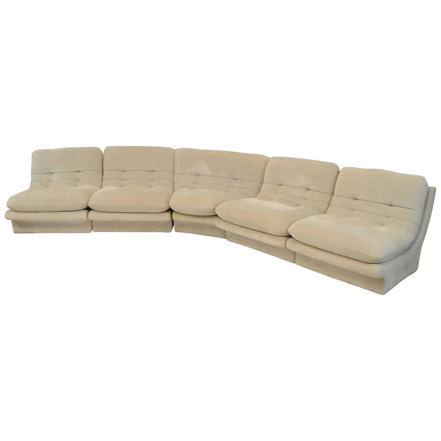 Dove Grey Five Piece Sectional Sofa by Preview style of Vladimir