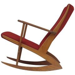 Soren Georg Jensen Mid-Century Danish Rocking Chair
