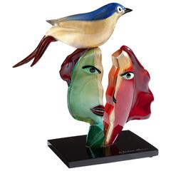 Murano Art Glass Group after Picasso