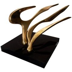 Abstract Modern Sculpture, Signed and Dated by Artist, McLean