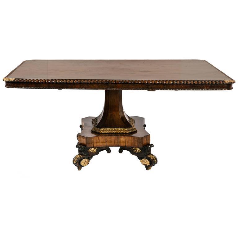 Early 19th Century Regency Breakfast Table