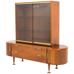 Stunning Mid-Century Modern Vitrine by A. A. Patijn for Poly-Z