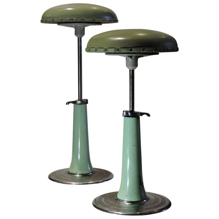 Industrial Stools By Bausch And Lomb At 1stdibs
